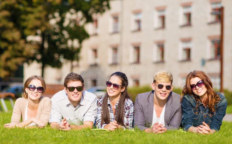Download Group Of Students Or Teenagers Hanging Out Stock Image - Image of chatting, hanging: 35320935