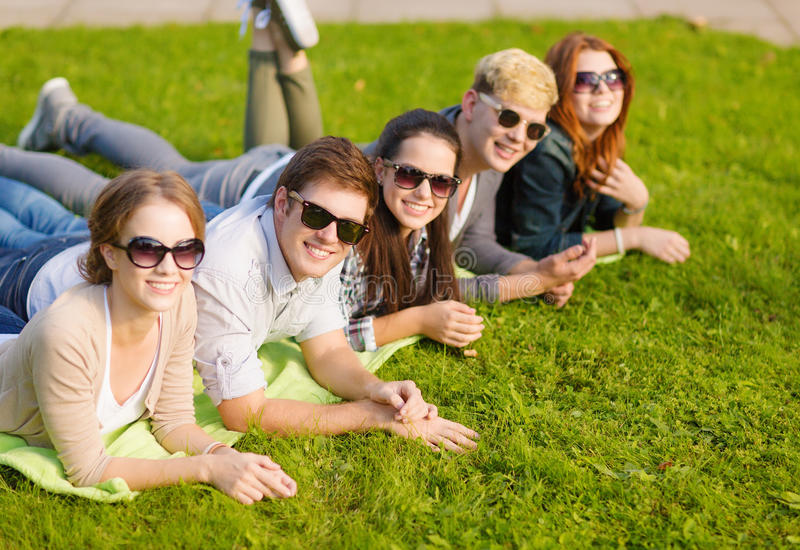 Download Group Of Students Or Teenagers Hanging Out Stock Photos - Image: 35320943