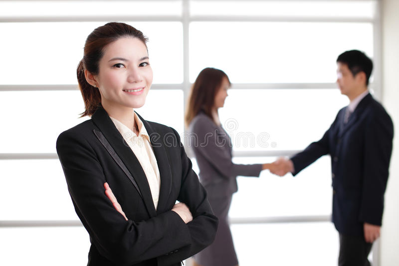 Group of success business people stock photography