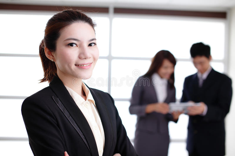 Group of success business people stock photo