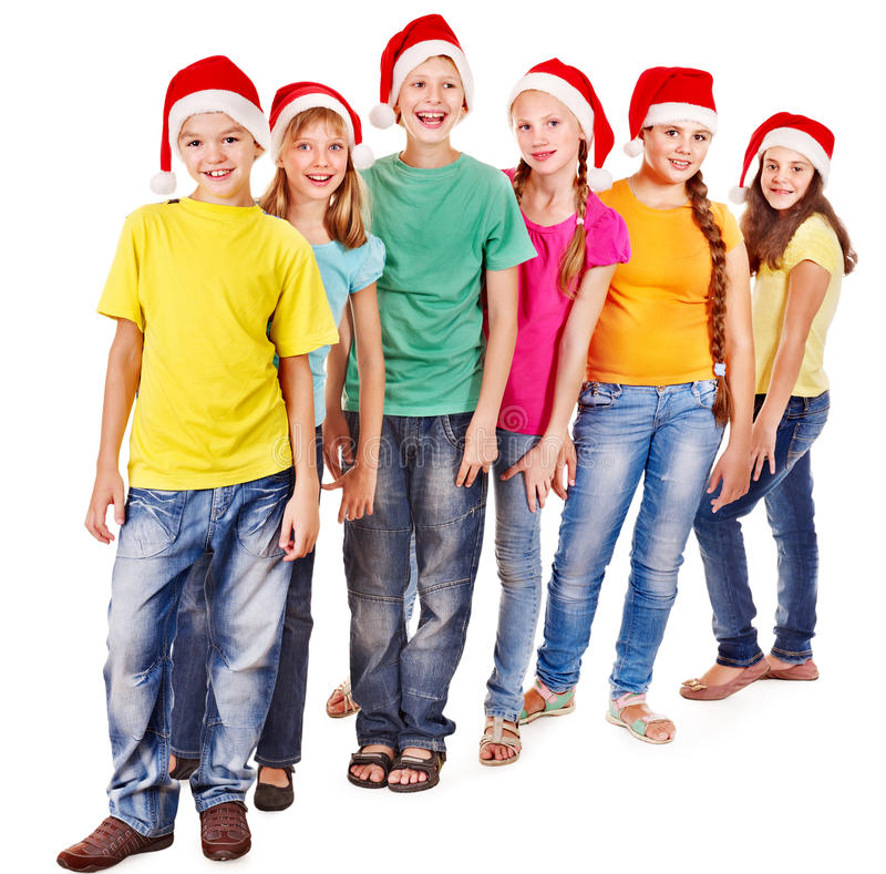 Download Group of teen people. stock image. Image of holiday, lifestyle - 27677451