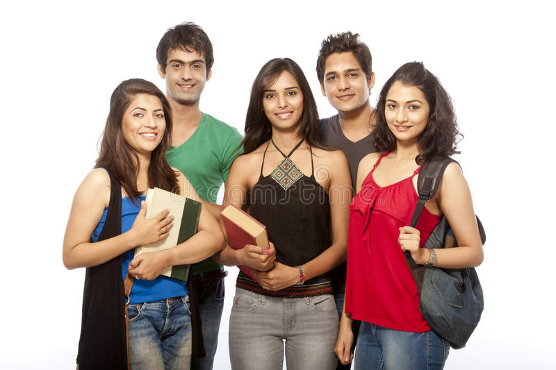 Download Group of Teenager Student stock photo. Image of portrait - 28895776