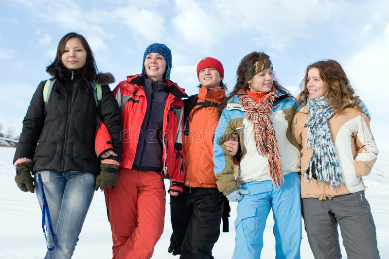 Download Group Of  Teens Different Ethnicity Stock Image - Image: 5241445