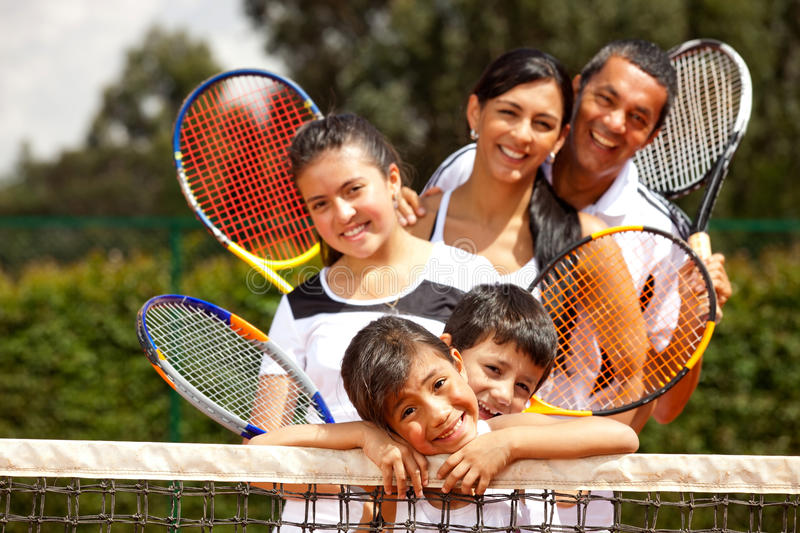 Download Group of tennis players stock image. Image of court, clay - 23267187