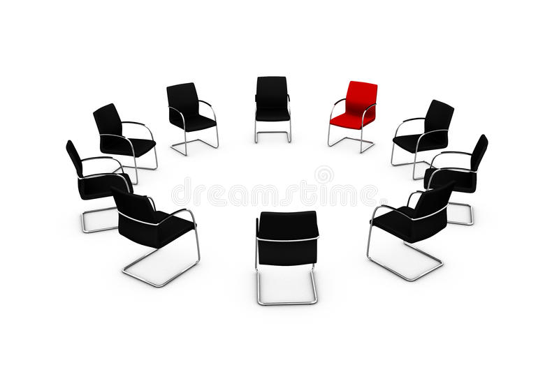 Group therapy stock illustration