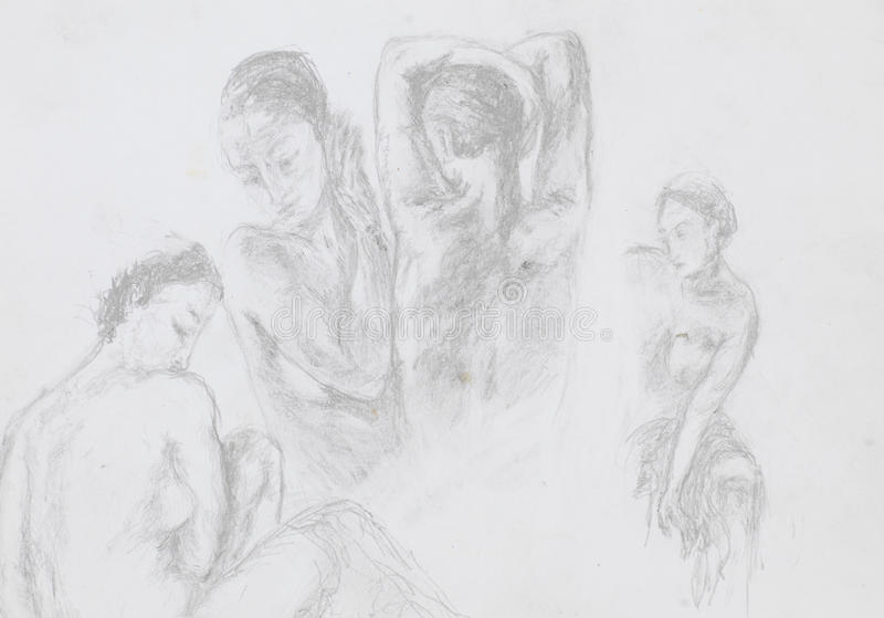 drawing-nude-women-collen-nude-pic