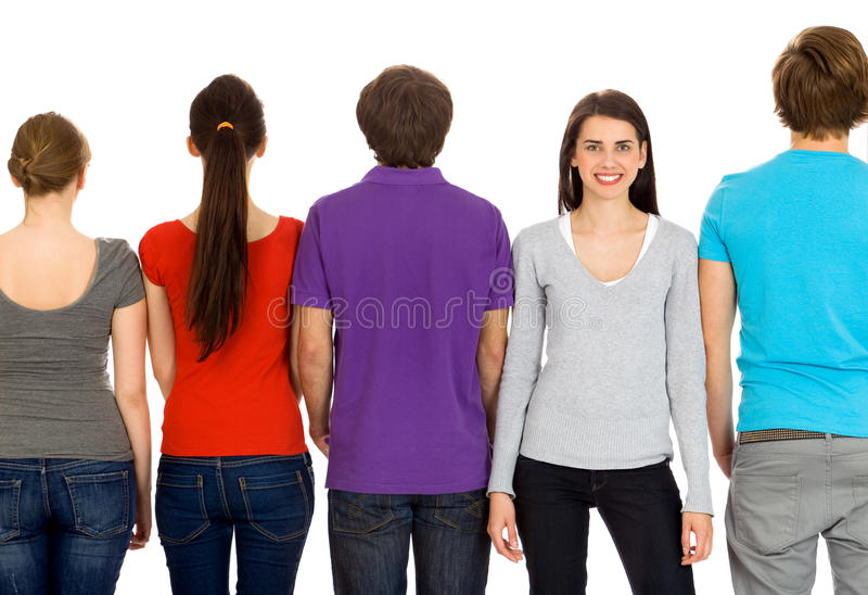 Download Group of young people stock photo. Image of beautiful - 14251888