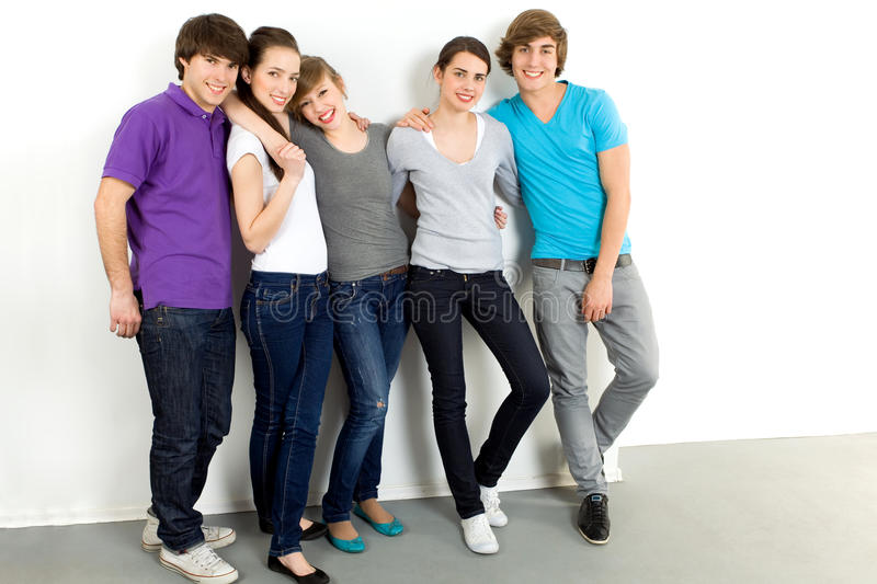 Group Of Young People Royalty Free Stock Images