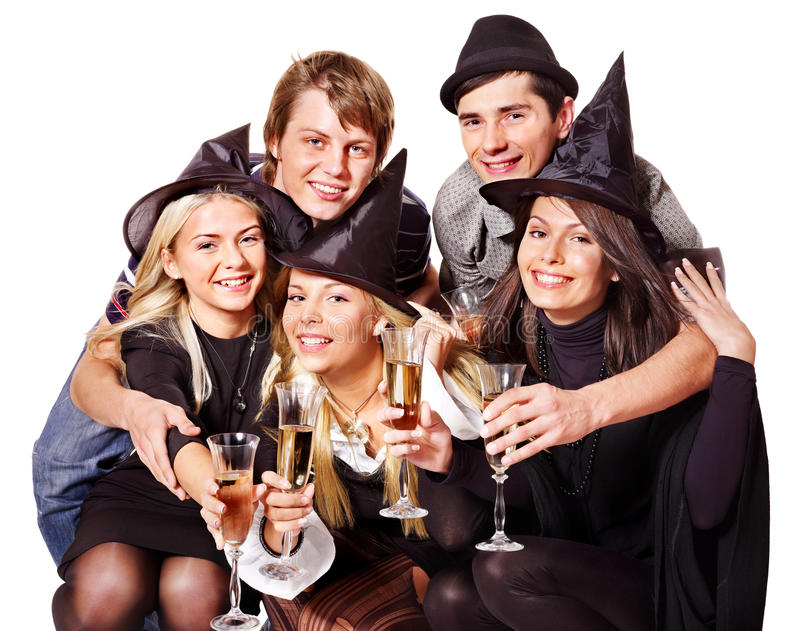 Download Group Young People On Party. Stock Image - Image: 21130013