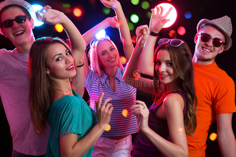 Download Group Of Young People At Party Stock Photo - Image: 83704650