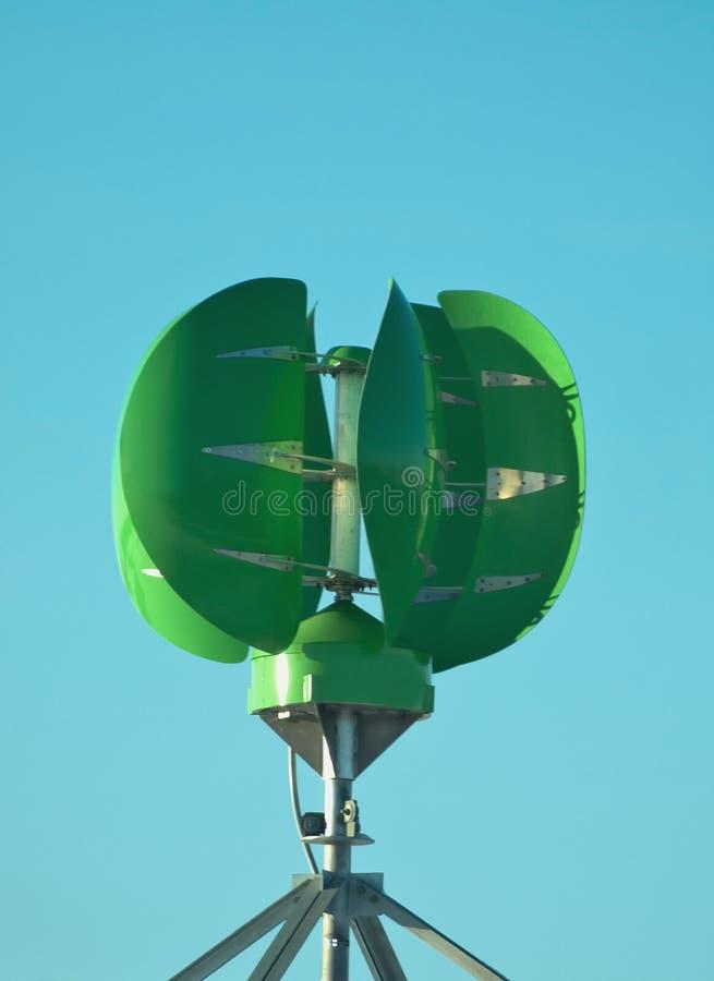 Groupe électrogène Vert Photos libres de droits