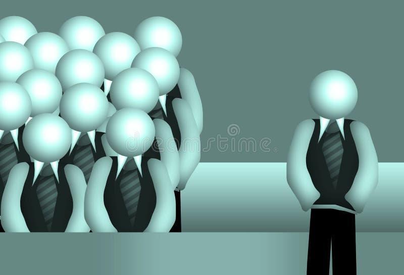 Groupe illustration de vecteur
