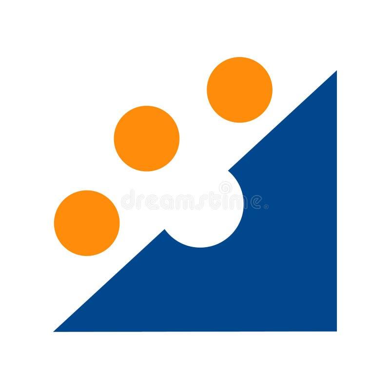 Groupe cible de logo illustration libre de droits