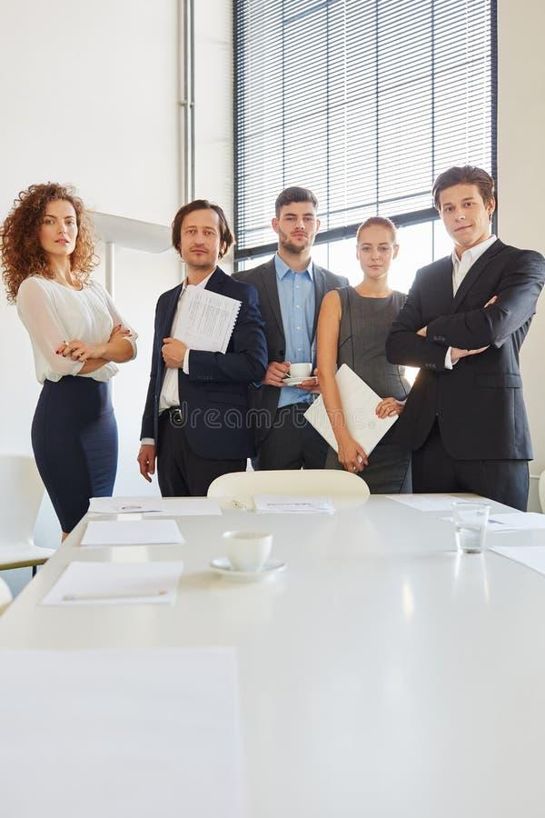 Groupe d'équipe d'affaires photo stock