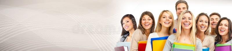 Groupe d'étudiants photos stock