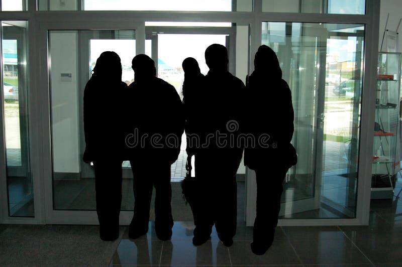 Groupe d'affaires photos stock