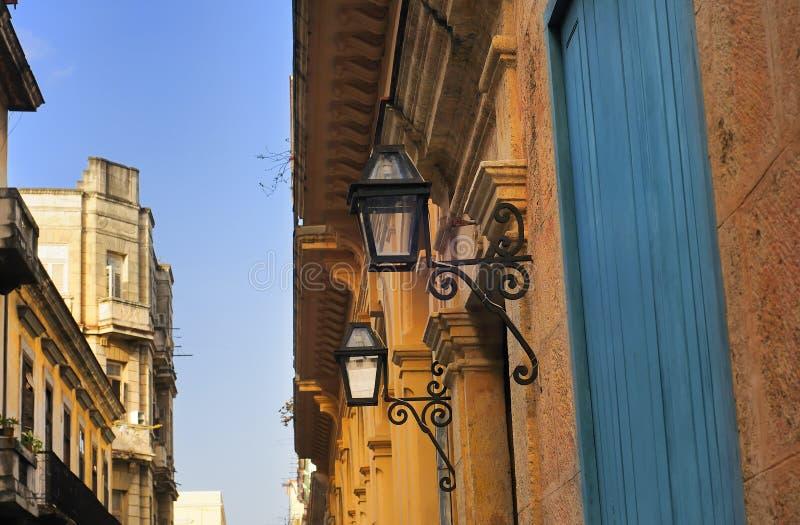 Groupe d'architecture de La Havane image stock