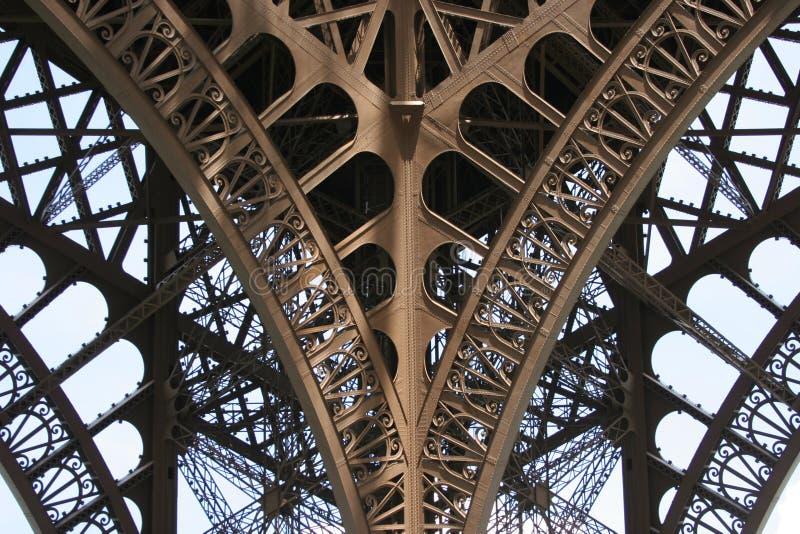 Groupe d'Eiffel image stock