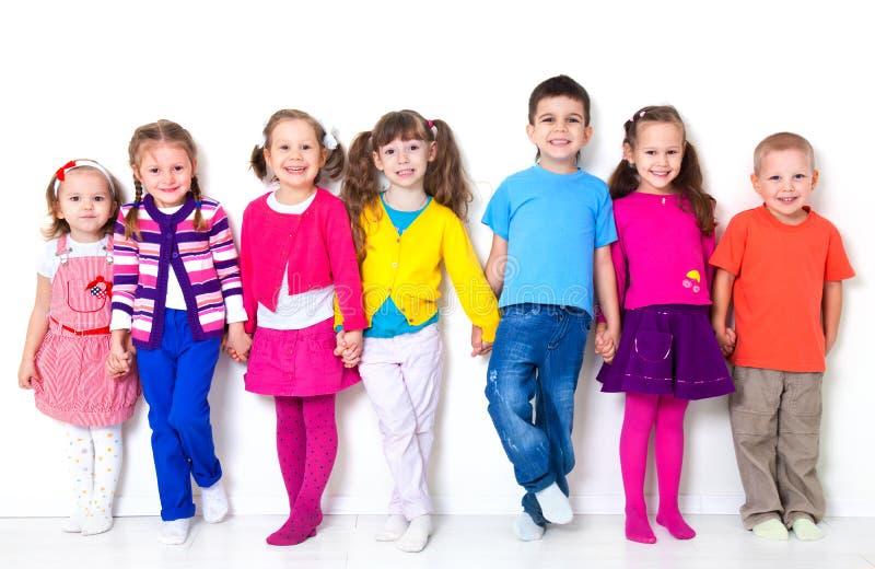 Groupe d'enfants photographie stock