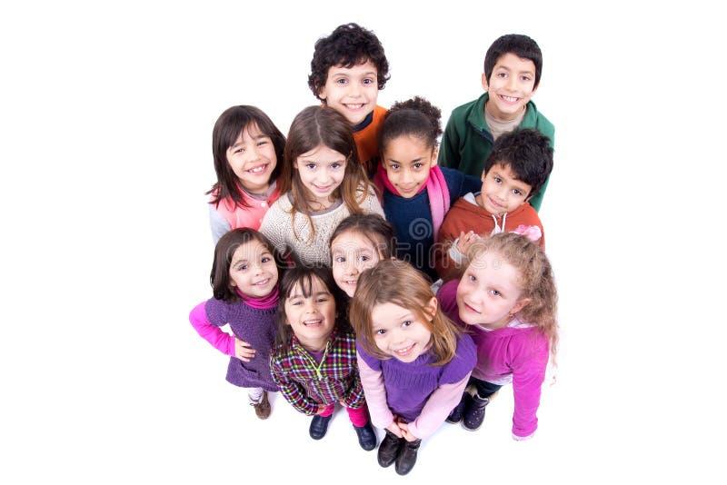 Groupe d'enfants photographie stock libre de droits