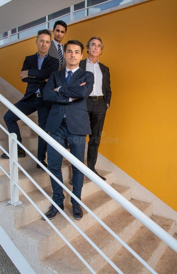 Groupe d'homme d'affaires photo stock