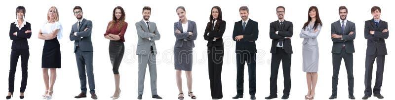 Groupe d'hommes d'affaires r?ussis d'isolement sur le blanc photos libres de droits