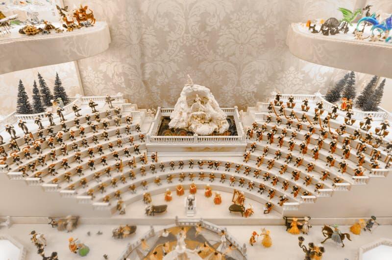 Groupe d'orchestre, Venise, Italie image stock