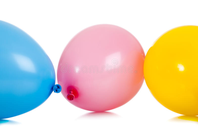 Groupe de ballons colorés photo stock