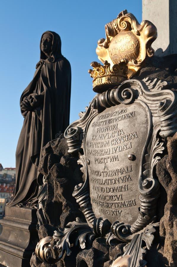 Groupe de Charles \ 'de passerelle, Prague photo libre de droits
