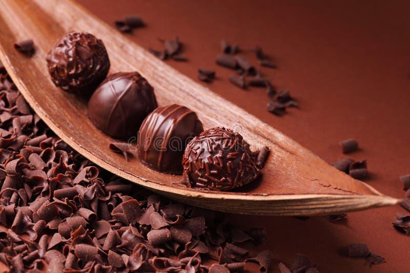 Groupe de chocolat images libres de droits