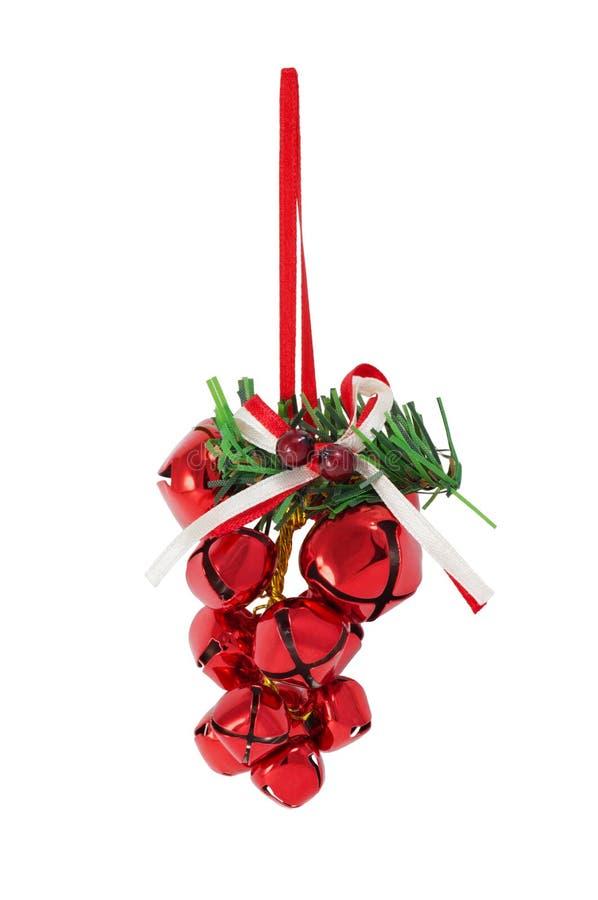 Groupe de cloches de Noël images libres de droits
