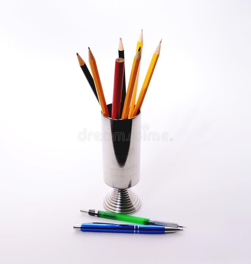 Groupe de crayons photographie stock