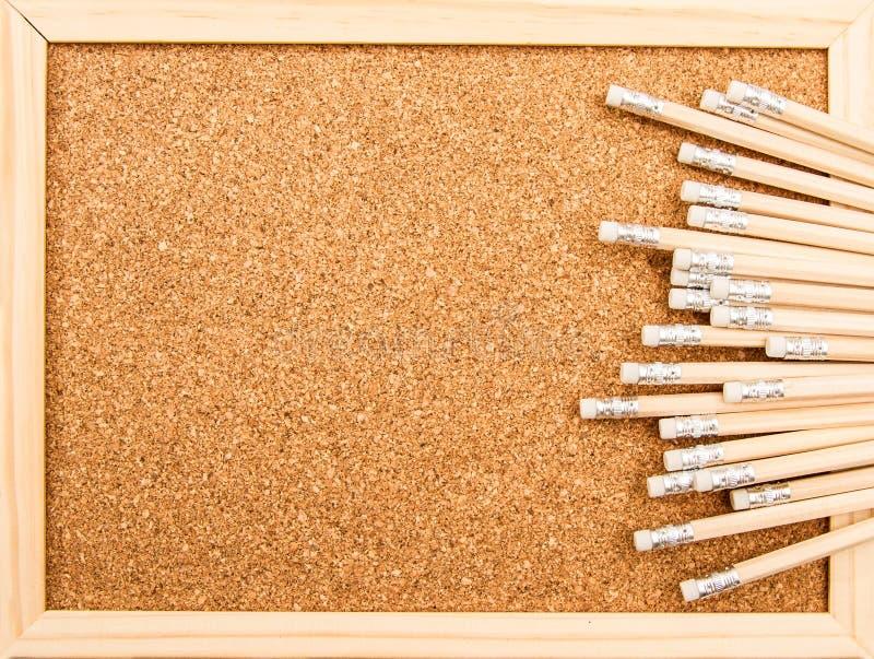 Groupe de crayons en bois photographie stock