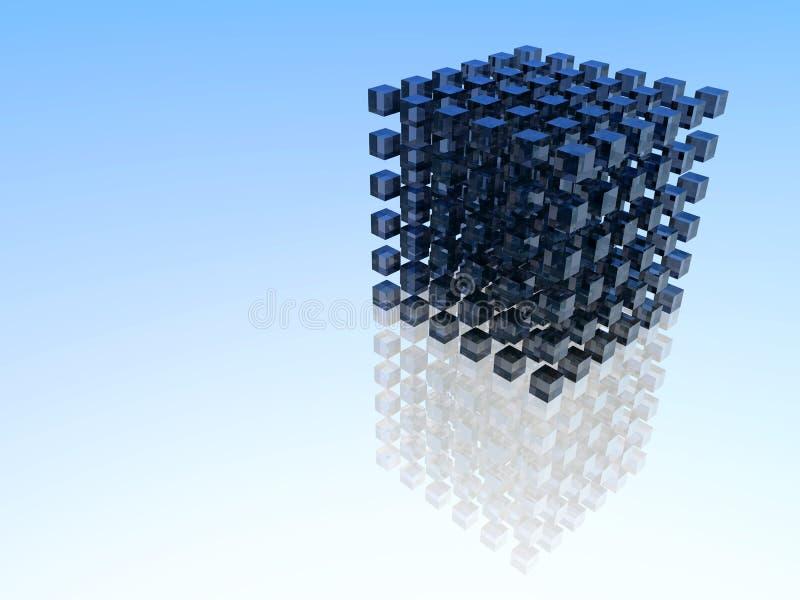 Groupe de cubes illustration libre de droits
