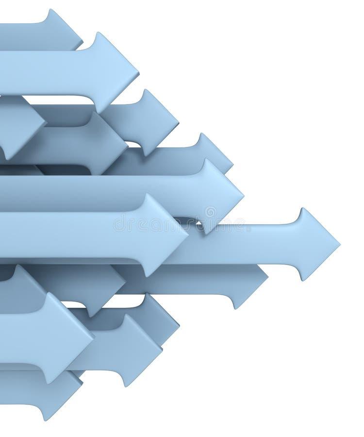 Groupe de flèches illustration de vecteur