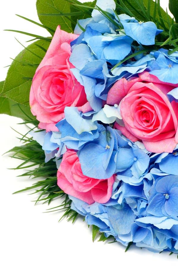 Groupe de fleurs. photo stock
