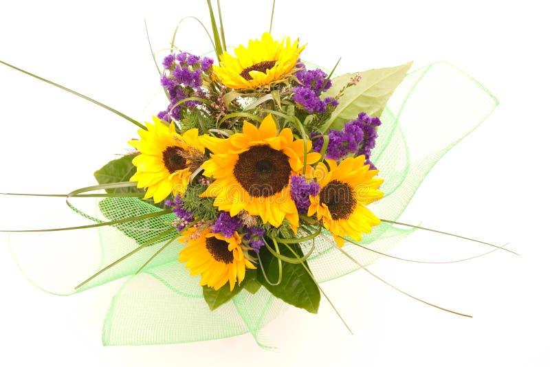 Groupe de fleurs photographie stock