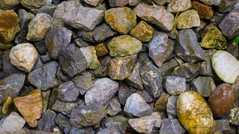 Groupe de fond de texture de pierre ou de roche photographie stock libre de droits