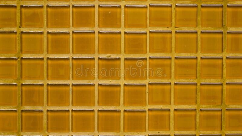 Groupe de fond orange de texture de tuiles photographie stock