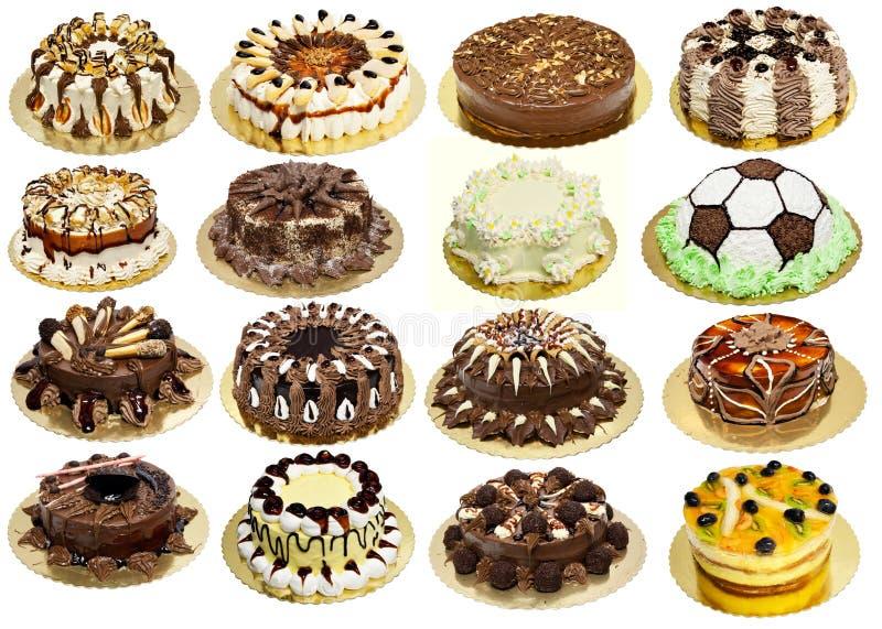 Groupe de gâteaux photos libres de droits