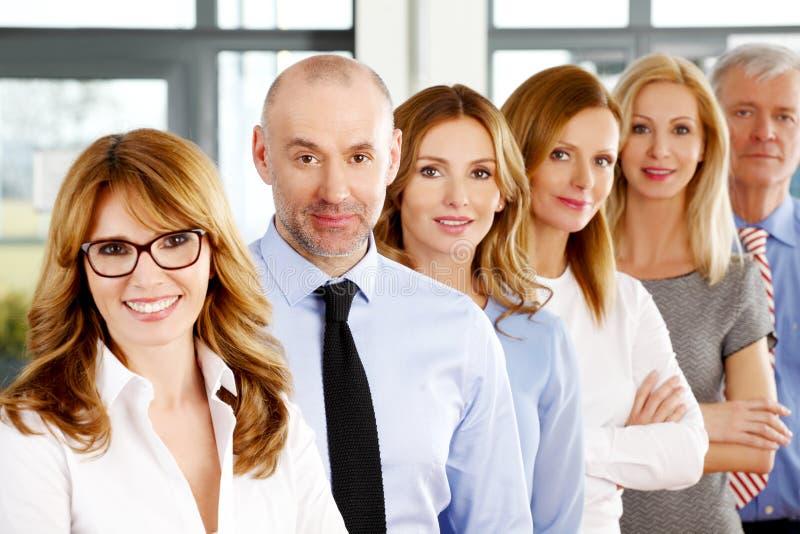Groupe de gens d'affaires photo stock