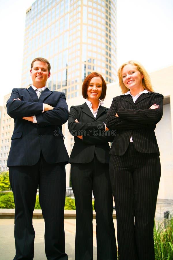 Groupe de gens d'affaires photos stock