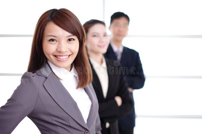 Groupe de gens d'affaires de succès image stock
