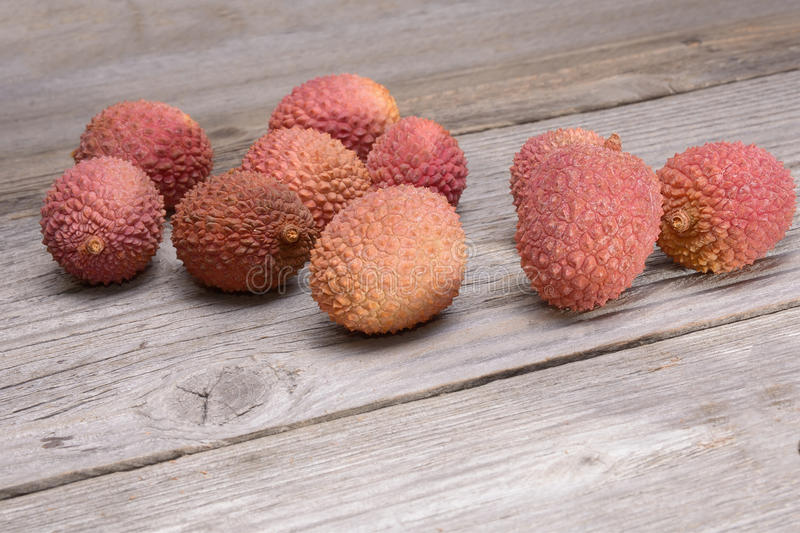 Groupe de litchi photo stock