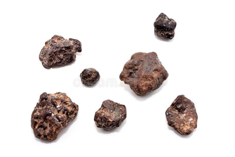 Groupe de météorites photos libres de droits