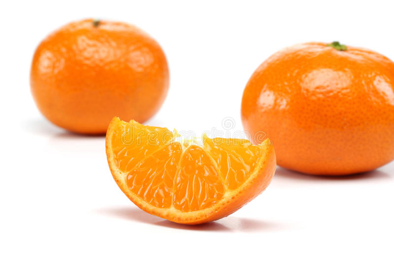 Groupe de mandarine photos libres de droits