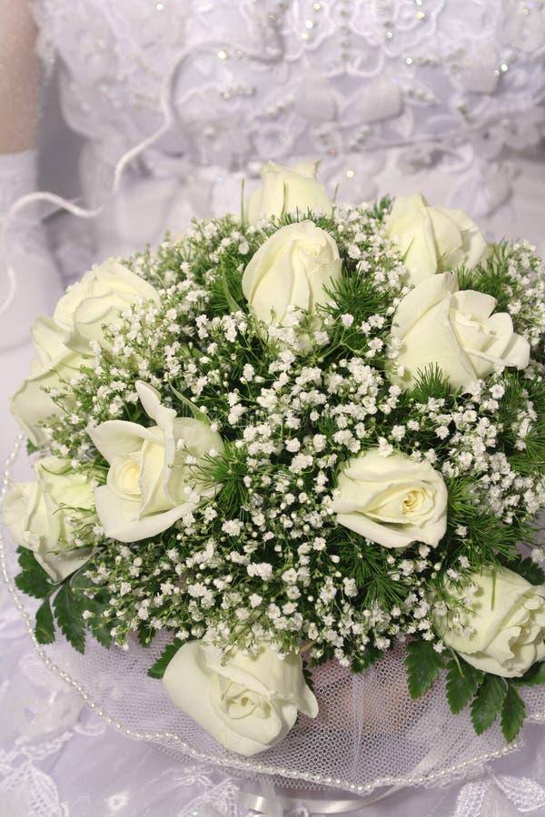 Groupe de mariage de fleurs images libres de droits