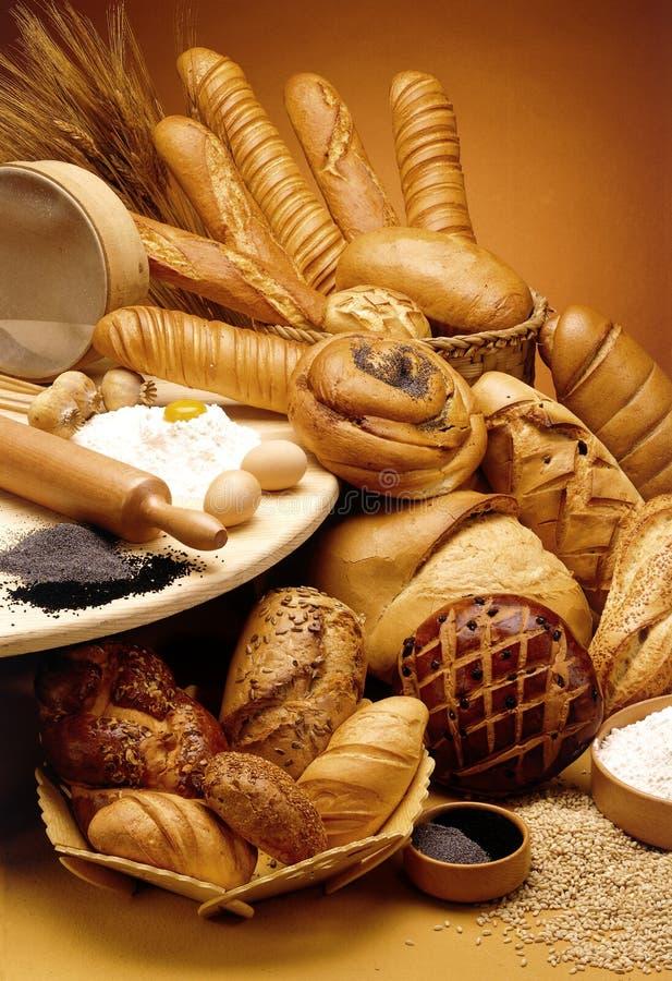 groupe de pains images stock