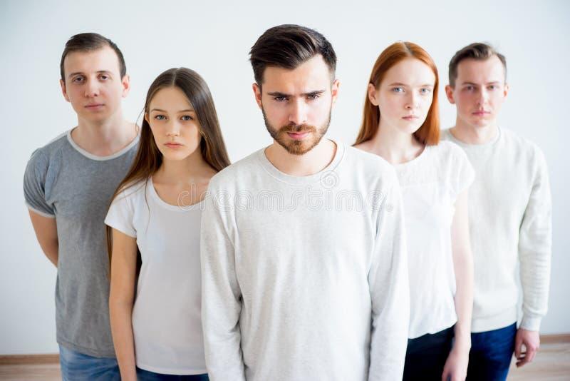 Groupe de personnes photo libre de droits