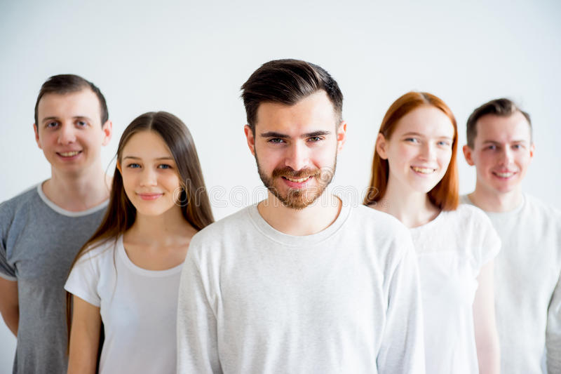Groupe de personnes image stock
